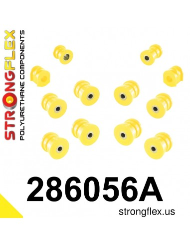 286056A: Rear suspension bush kit SPORT
