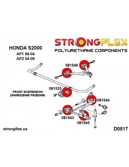036119A: Rear beam mounting bush kit SPORT