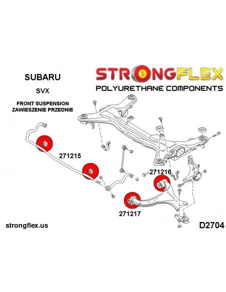 036191A: Rear beam mounting bush kit E39 Touring SPORT