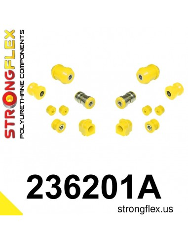 236201A: Front suspension bush kit SPORT