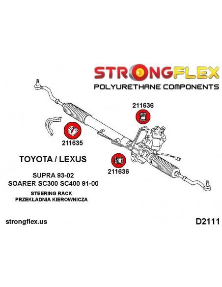 011810A: Front lower wishbone rear bush 48mm SPORT