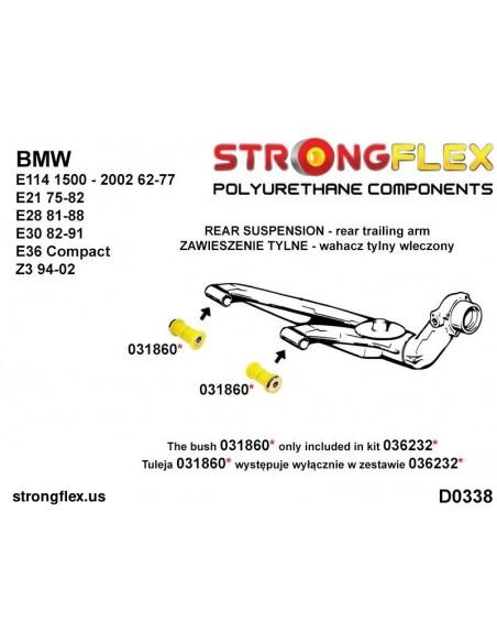 051424A: Front wishbone front bush sport