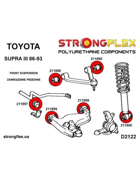 011872A: Rear trailing arm - front bush SPORT