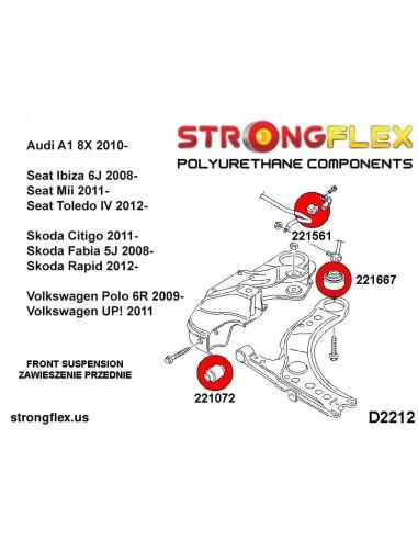 231946A: Front strut bar to body bush SPORT