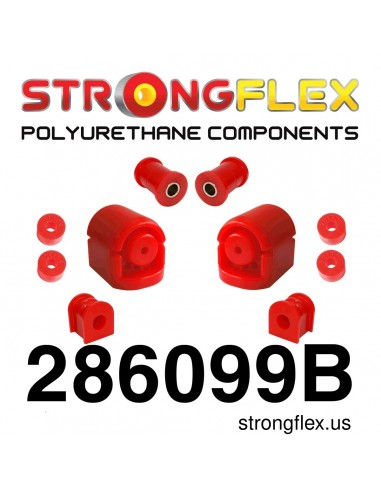 286099B: Set of front suspension polyurethane