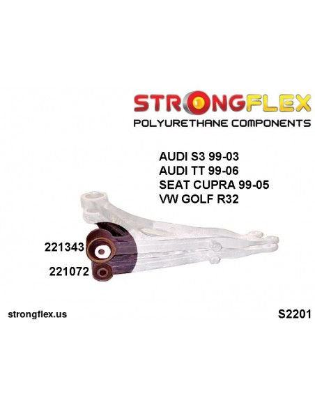 061522B: Motor mount inserts