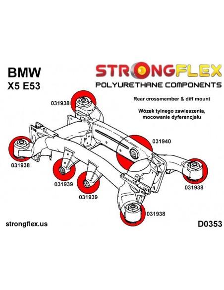 011874A: Rear hub - upper bush SPORT