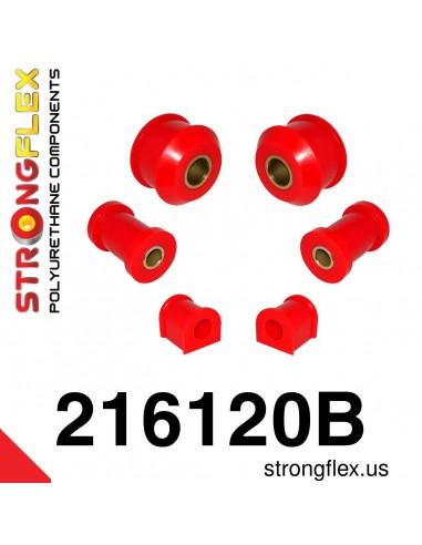 216120B: Front suspension polyurethane bush kit