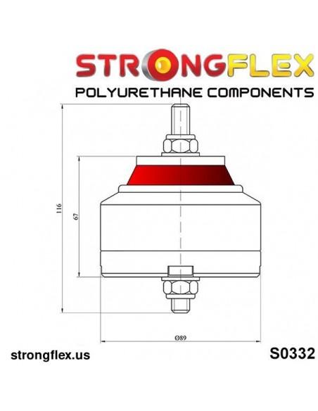 066048A: Front suspension bush kit SPORT