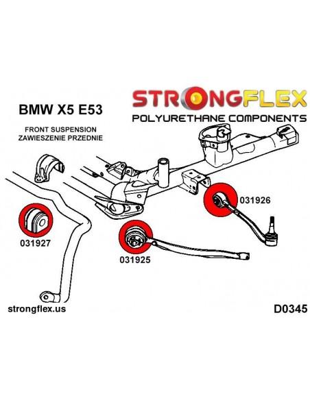011961A: Rear toe adjuster bush SPORT
