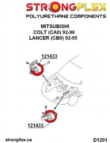 081107A: Outer arm to hub bush inner track arm bush 35mm SPORT
