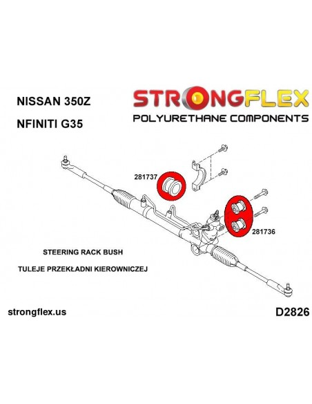 081162A: Engine mount inserts left side SPORT