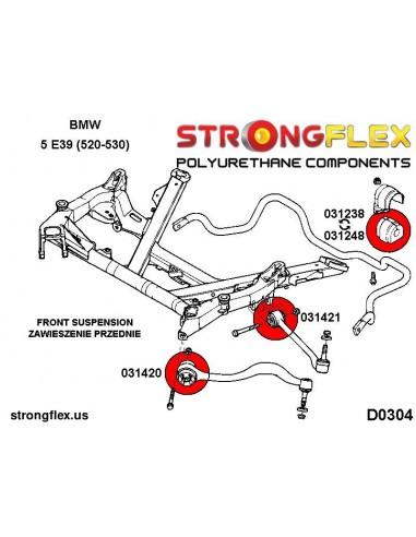 016076A: Rear suspension bush kit SPORT