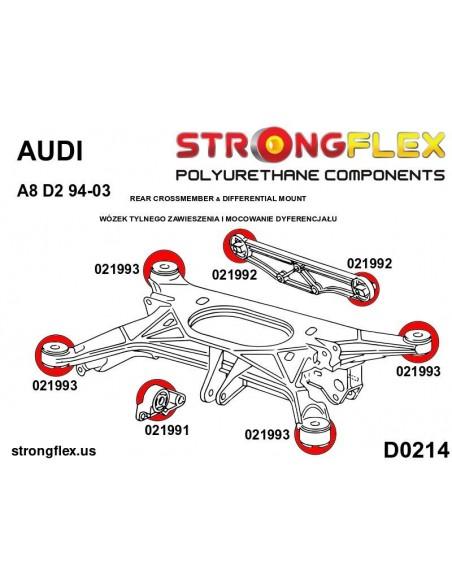 081337A: Left upper engine mount insert SPORT