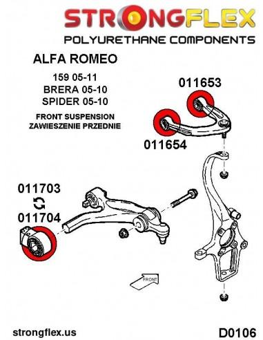 081521A: Rear anti roll bar link bush SPORT