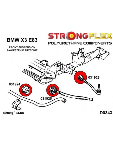 081548A: Rear lower rear arm bush SPORT
