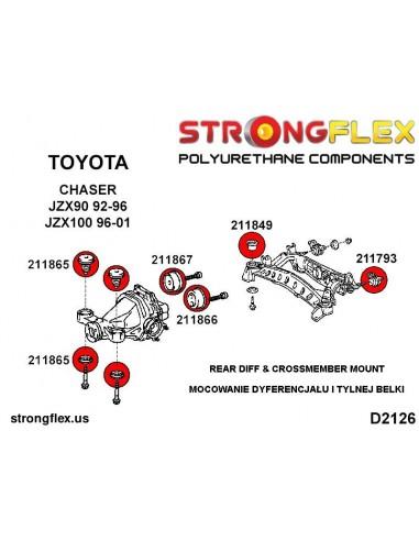 081575A: Rear suspension inner lower bush SPORT