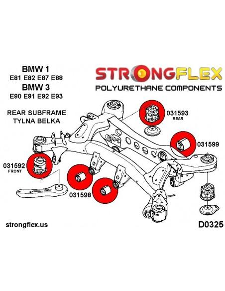 081642A: Front lower inner arm bush (SH models) SPORT