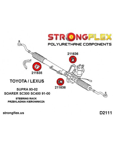 081805A: Front upper arm bush SPORT