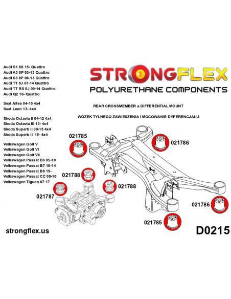 086019B: Front suspension bush kit