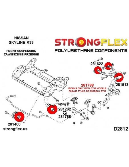 086219B: Front suspension bush kit
