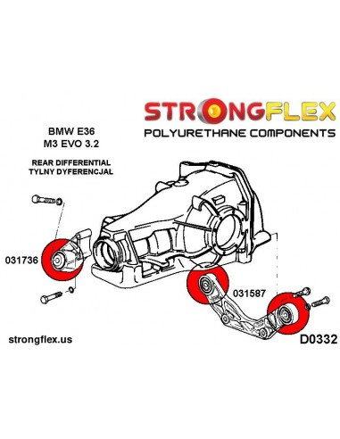 031587B: Rear differential rear mount bush