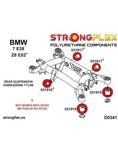 101363B: Rear lower inner suspension bush