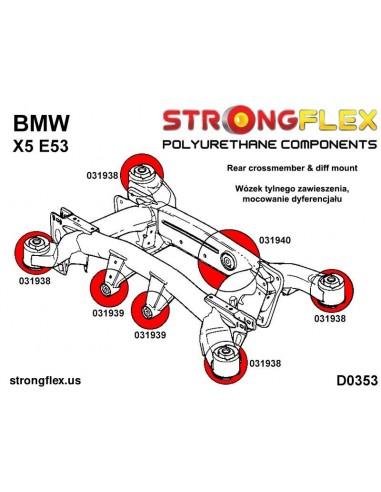 101675A: Rear trailing arm front bush SPORT
