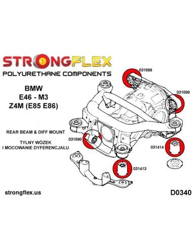101702B: Steering rack bush
