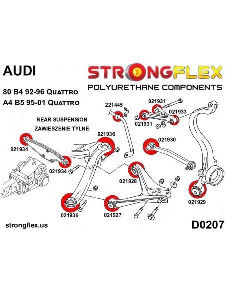 111817A: Rear toe adjuster inner bush SPORT