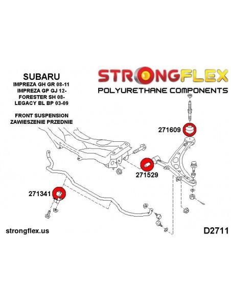 111819B: Rear control arm - outer bush