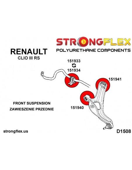 111821B: Rear anti roll bar bush