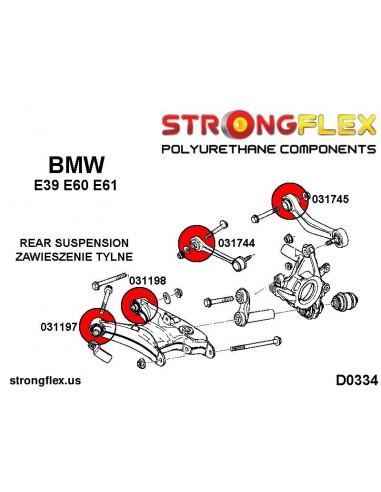 021770A: Rear anti roll bar link bush SPORT
