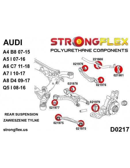 116224B: Full suspension bush kit