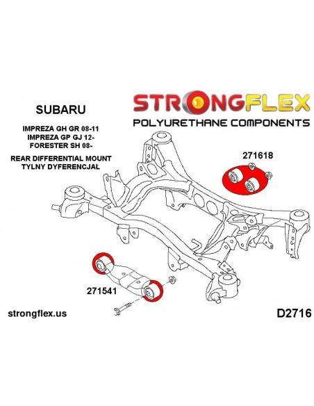 121503A: Rear lower trailng arm bush SPORT