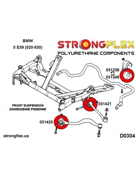 126141A: Full suspension bush kit SPORT