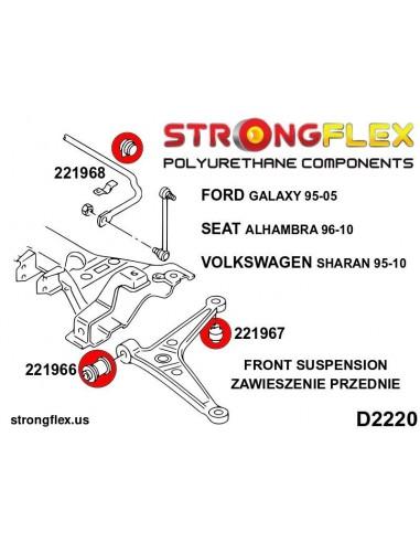 131247B: Right engine mount insert
