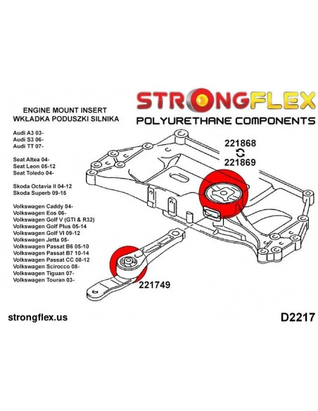 131583B: Front tie bar to chassis 58mm