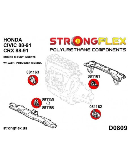 131606B: Rear tie bar to chassis bushes