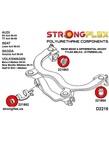 131607A: Rear anti roll bar bush SPORT