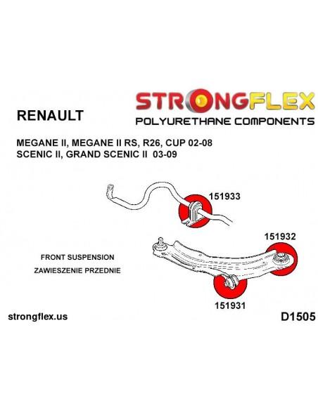 131691A: Rear trailing arm bush eccentric SPORT