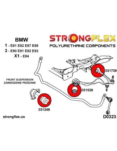 131786A: Rear anti roll bar link to arm bush SPORT