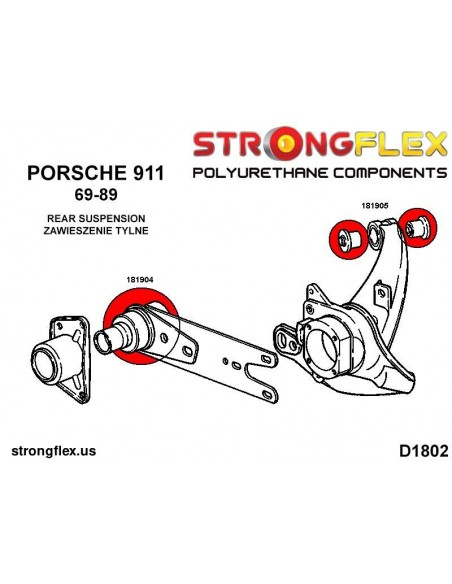 131805B: Front lower wishbone front bush