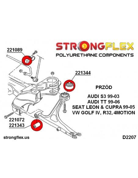 151478A: Engine mount bush - dog bone PH II SPORT