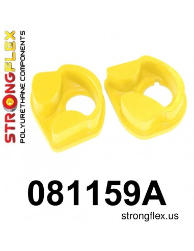 081159A: Engine mount inserts front SPORT