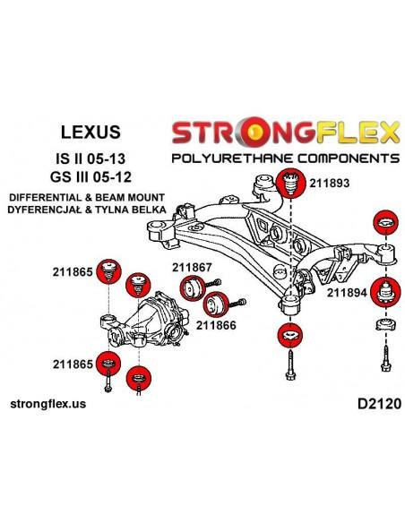 021965B: Rear differential - rear bush