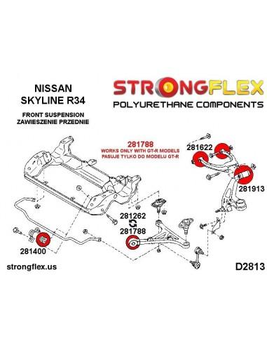 211918A: Rear differential – rear bush SPORT