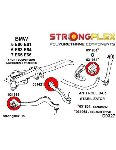 011872B: Rear trailing arm - front bush