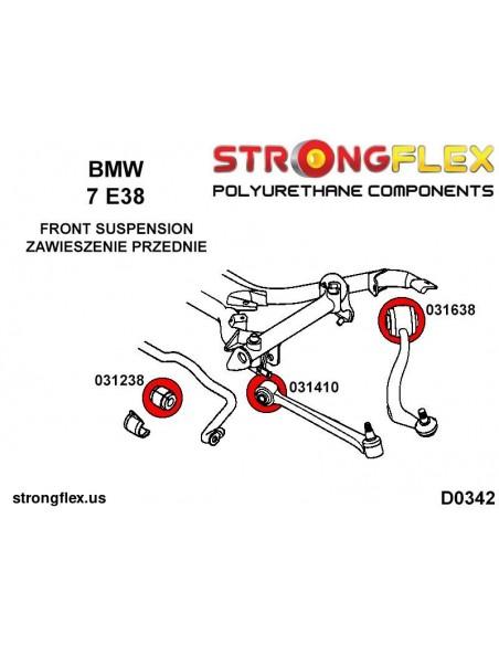 031167A: Rear anti roll bar bush SPORT