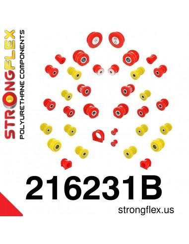 216231B: Full suspension polyurethane bush kit